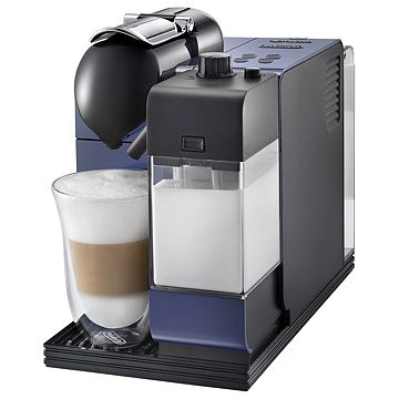 DeLonghi EN 520.BL Kaffeemaschine (Schwarz, Blau)