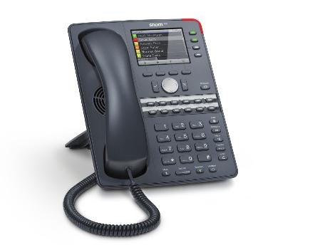Snom 760 12Zeilen Wired handset Anthrazit (Anthrazit)