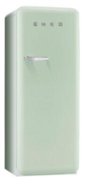 Smeg FAB28RV1 Kombi-Kühlschrank (Grün)