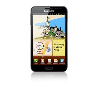 Samsung Galaxy Note GT-N7000 16GB Blau (Blau)