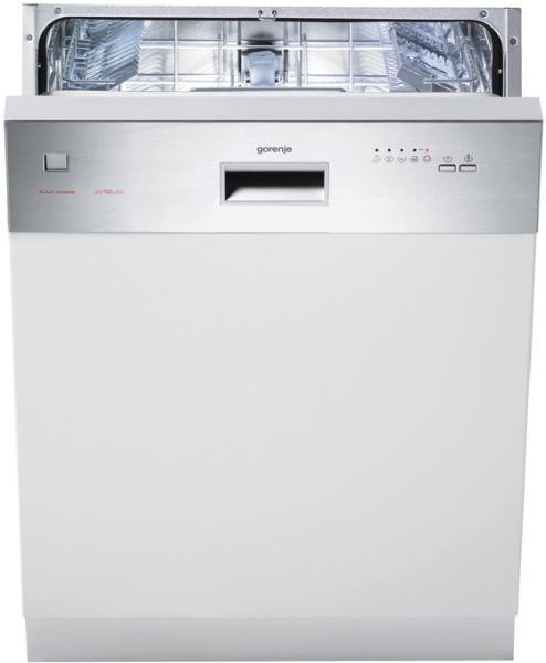 Gorenje GI61224X Spülmaschine (Edelstahl, Weiß)