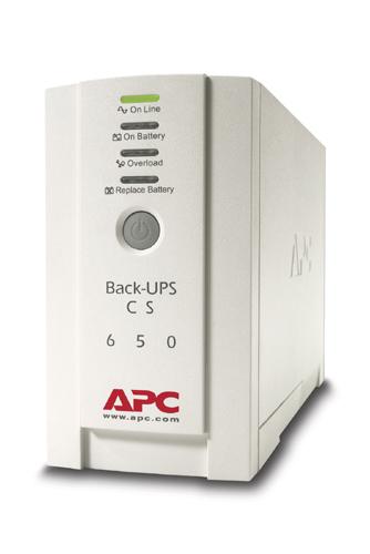 APC BK650EI Unterbrechungsfreie Stromversorgung UPS (Beige)