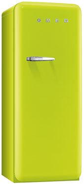 Smeg FAB28RVE1 Kombi-Kühlschrank (Grün)
