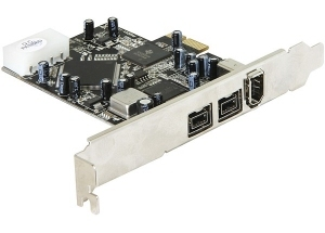 DeLOCK PCI Express card FireWire A / B
