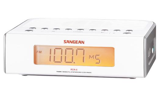 Sangean RCR-5 (Weiß)