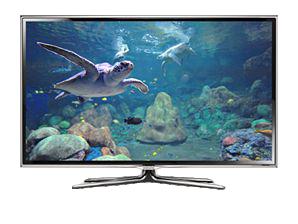 "Samsung UE46ES6890S 46"" Full HD 3D Kompatibilität Smart-TV WLAN Silber (Silber)"