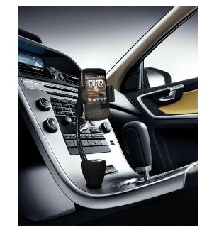 Technaxx Universal Autohalterung mit Ladegerät-TE06 (Schwarz)