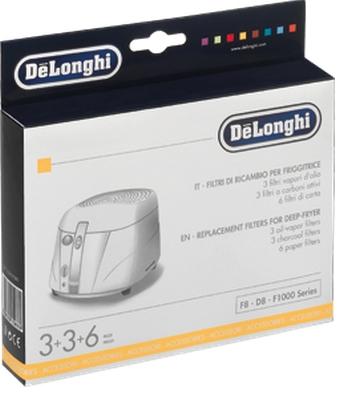 DeLonghi 5525101500 (Schwarz, Weiß)