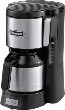 DeLonghi ICM 15740 Kaffeemaschine (Schwarz, Silber)