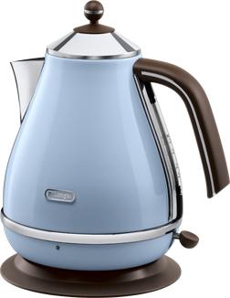 DeLonghi KBOV 2001.AZ Wasserkocher (Blau)