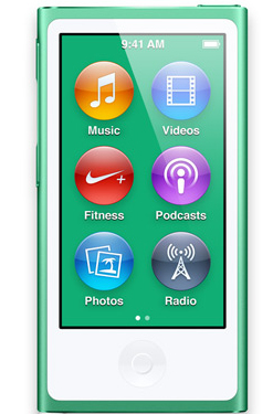 Apple iPod nano 16GB (Grün)