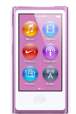 Apple iPod nano 16GB (Violett)