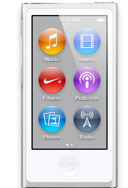Apple iPod nano 16GB (Silber)