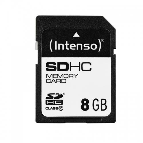 Intenso 8GB SDHC (Schwarz)