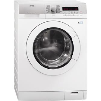 AEG L76474EFL Eingebaut 7kg A+++-10% Weiß Vorderseite Waschmaschine (Weiß)