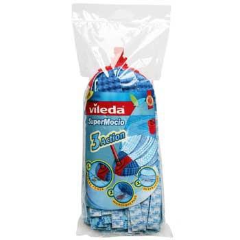 Vileda Swab Refill Super Mocio (Blau, Weiß)