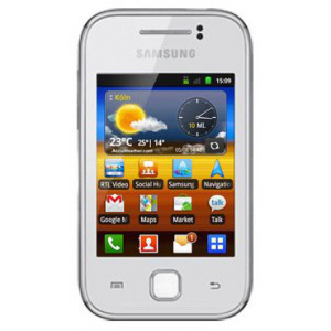 Samsung Galaxy Y GT-S5360 Weiß