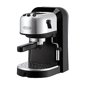 DeLonghi Pump-Driven Espresso Maker EC270 (Silber, Weiß)