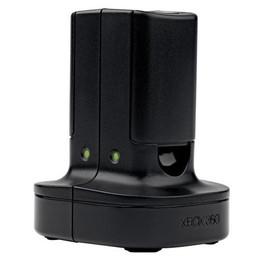 Microsoft Quick Charge Kit f/Xbox 360 (Schwarz)
