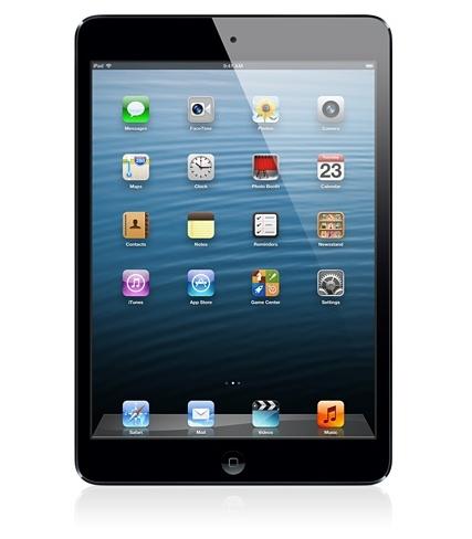 Apple iPad mini 64GB Schwarz (Schwarz)