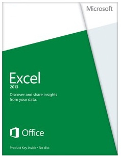 Microsoft Excel 2013 x32/64, Sngl, DEU