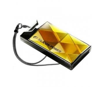 Silicon Power 64GB Touch 850 64GB USB 2.0 Gelb USB-Stick (Gelb)