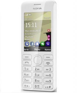 Nokia 206 Dual SIM (Weiß)