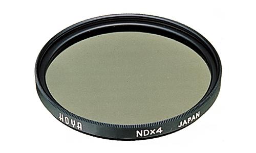 Hoya NDx4 72mm (Schwarz, Grau)