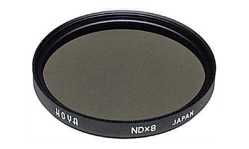 Hoya NDx8 72mm (Schwarz, Grau)