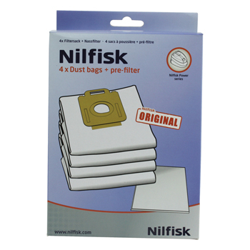 Nilfisk Power Series Dustbags (Weiß)
