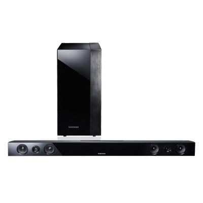 Samsung HW-F450 Soundbar-Lautsprecher (Schwarz)