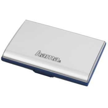 Hama Fancy Card Case SD/MMC (Silber)