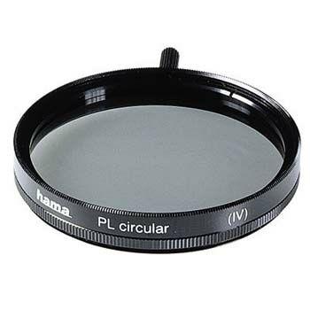 Hama Polarising Filter, circular, 55.0 mm, HTMC coated (Schwarz)