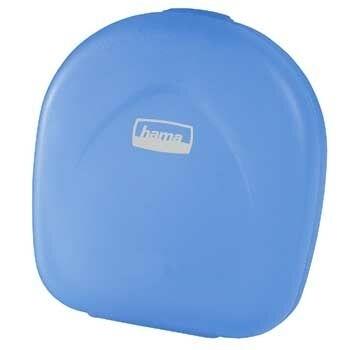 Hama CD Case 24, blue-transparent (Blau)