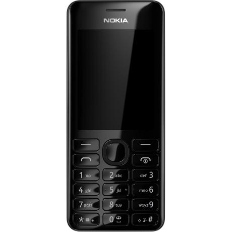 Nokia 301 Dual (Schwarz)