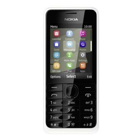 Nokia 301 Dual (Weiß)