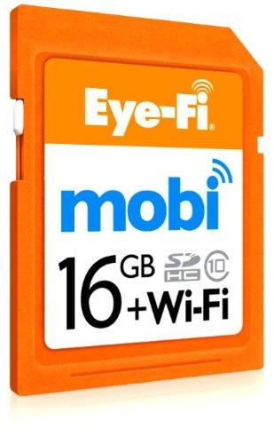 Eye-Fi Mobi 16GB (Orange)
