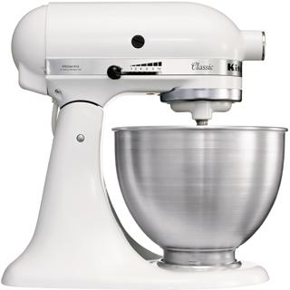 KitchenAid 5K45SSEWH Küchen- & Haushaltswaren-Zubehör (Metallisch, Weiß)