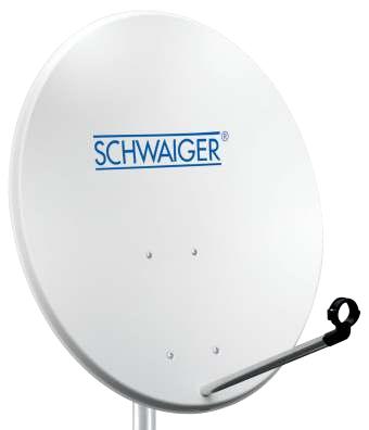 Schwaiger SPI992011 Satellitenantenne (Grau)
