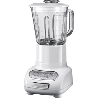 KitchenAid 5KSB5553EWH Mixer (Weiß)