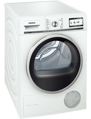 Siemens WT47Y701FG Wäschetrockner (Weiß)