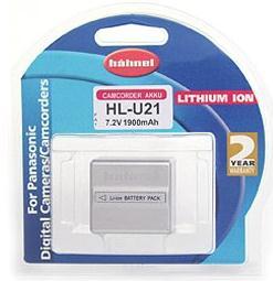 Hahnel HL-U21 Wiederaufladbare Batterie / Akku (Silber)