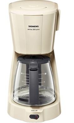 Siemens TC3A0307 Kaffeemaschine (Cream, Grau)