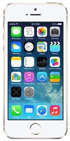 Apple iPhone 5s 16GB 4G Gold (Gold)