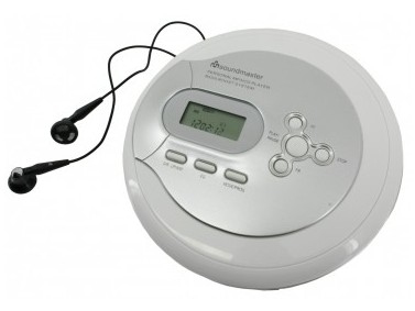 Soundmaster CD9180 CD-Spieler u. -Recorder (Silber)