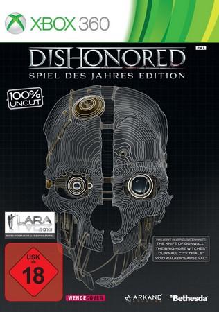 Bethesda Dishonored: Spiel des Jahres Edition, Xbox 360