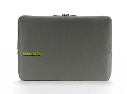 """Tucano SECOND SKIN - Microfiber Script - MacBook 13"""" (Grau)"""
