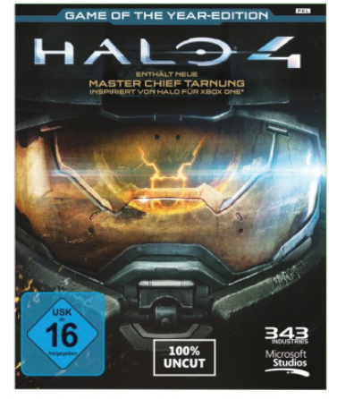 Microsoft Halo 4 Game of the Year Edition, Xbox 360