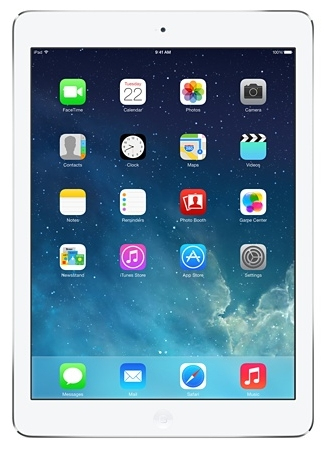 Apple iPad Air 64GB 3G 4G Silber (Silber)