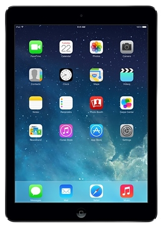 Apple iPad Air 128GB 3G 4G Grau (Grau)
